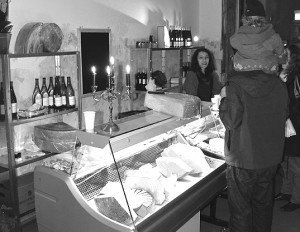 Das Käselager.Foto: fh