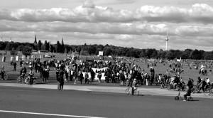 Tempelhofer Feld.Foto: mr
