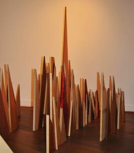 Holzdreiecke